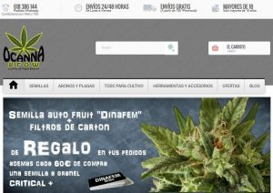 web ocannagrow - Grow Shop Online