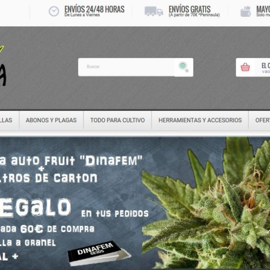 web ocannagrow - Grow Shop Online