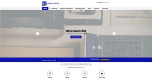 Diseño web responsive para DMR Gestión