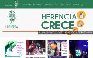 Diseño web responsive de www.herencia.es