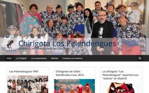Diseño web Los Pelendengues