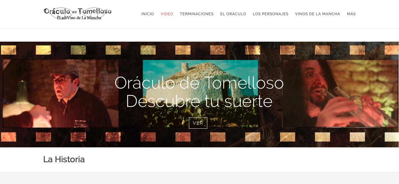 Diseño web y asesoramiento para El Oráculo de Tomelloso