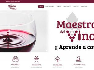 Diseño y desarrollo web para Maestro del Vino
